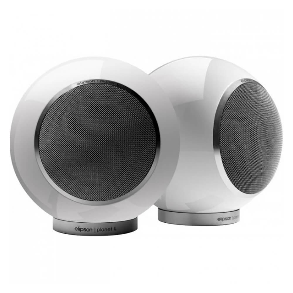 Круглые акустические системы полочного типа Elipson Planet L 2.0 white
