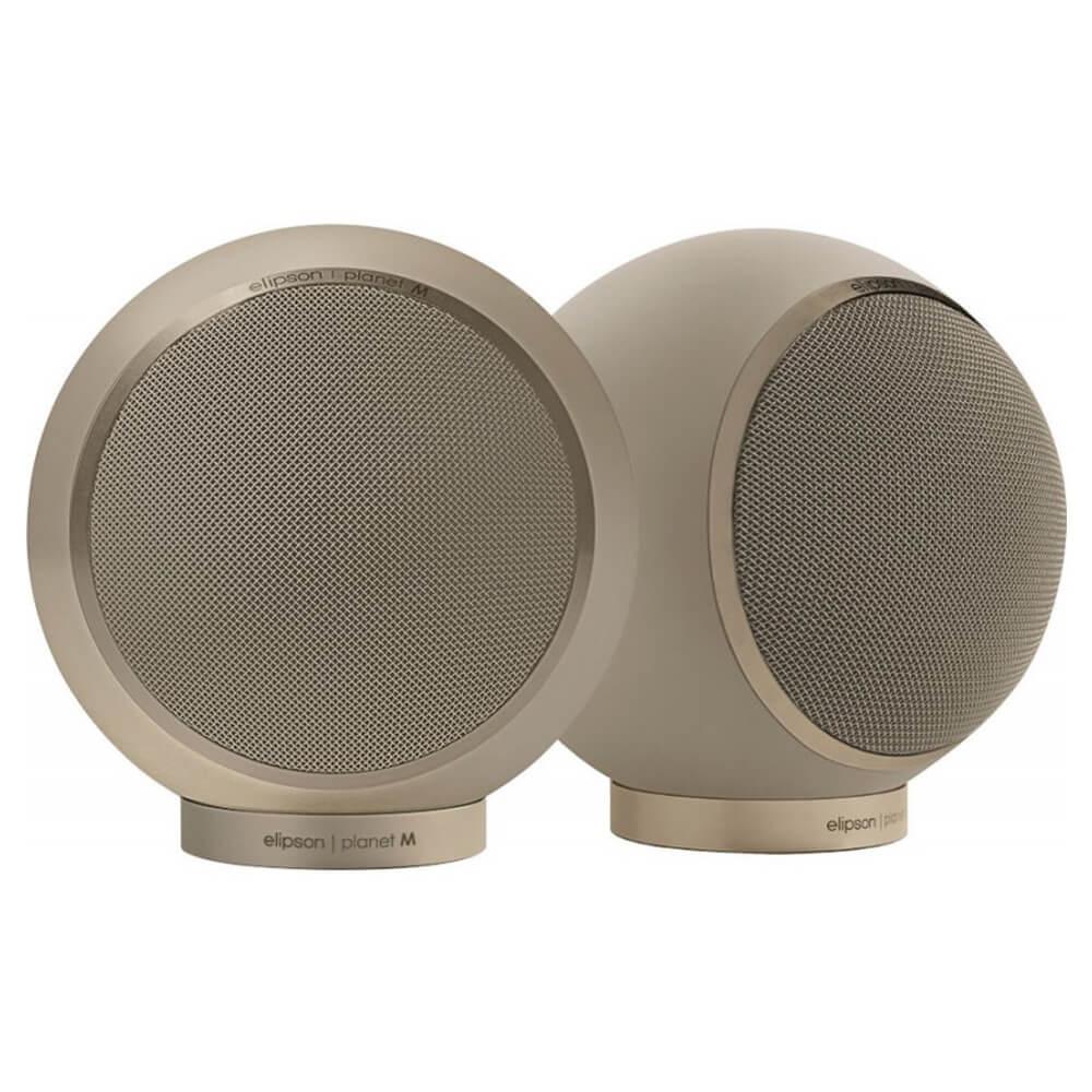Круглые акустические системы полочного типа Elipson Planet L 2.0 Saturn Dust