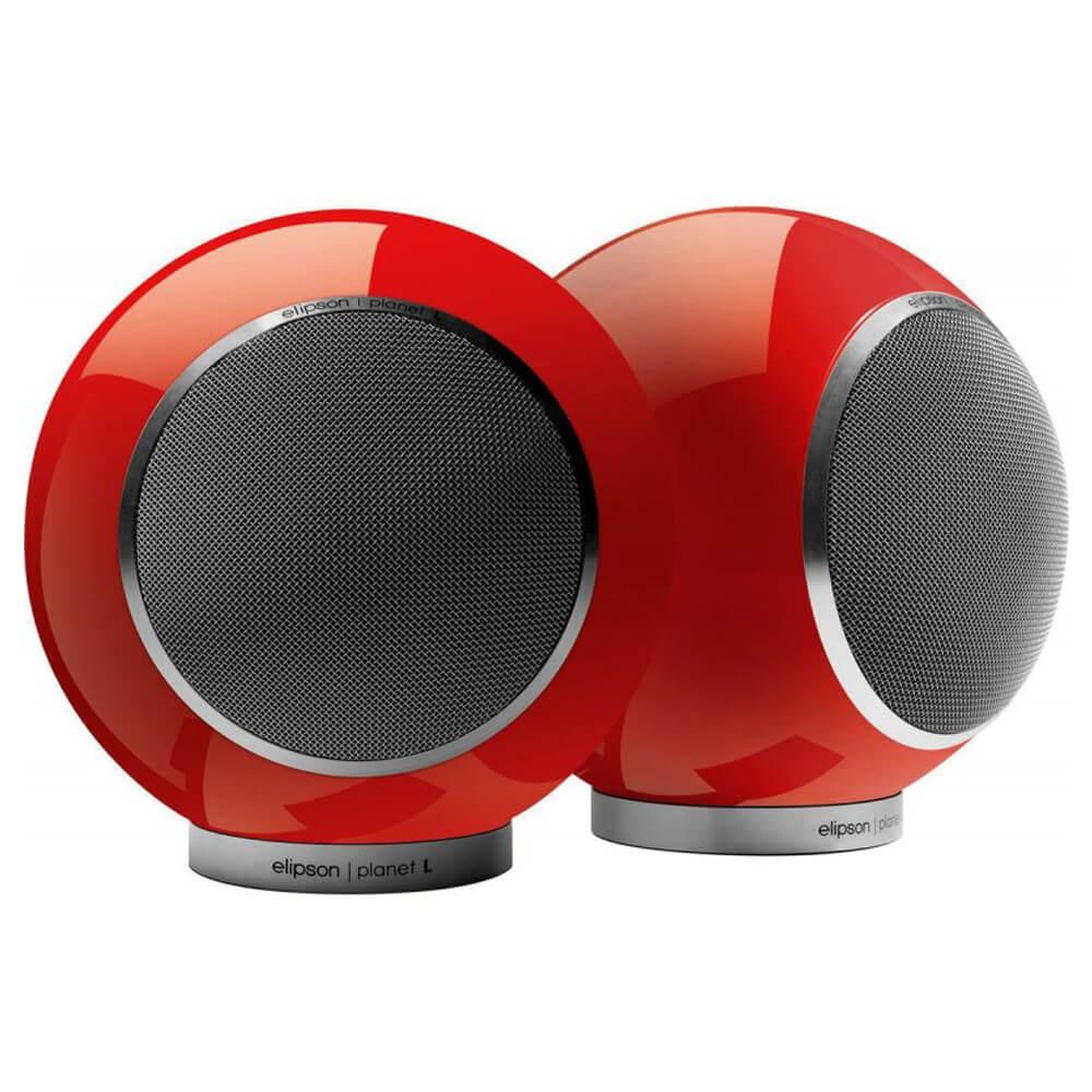 Круглые акустические системы полочного типа Elipson Planet L 2.0 red