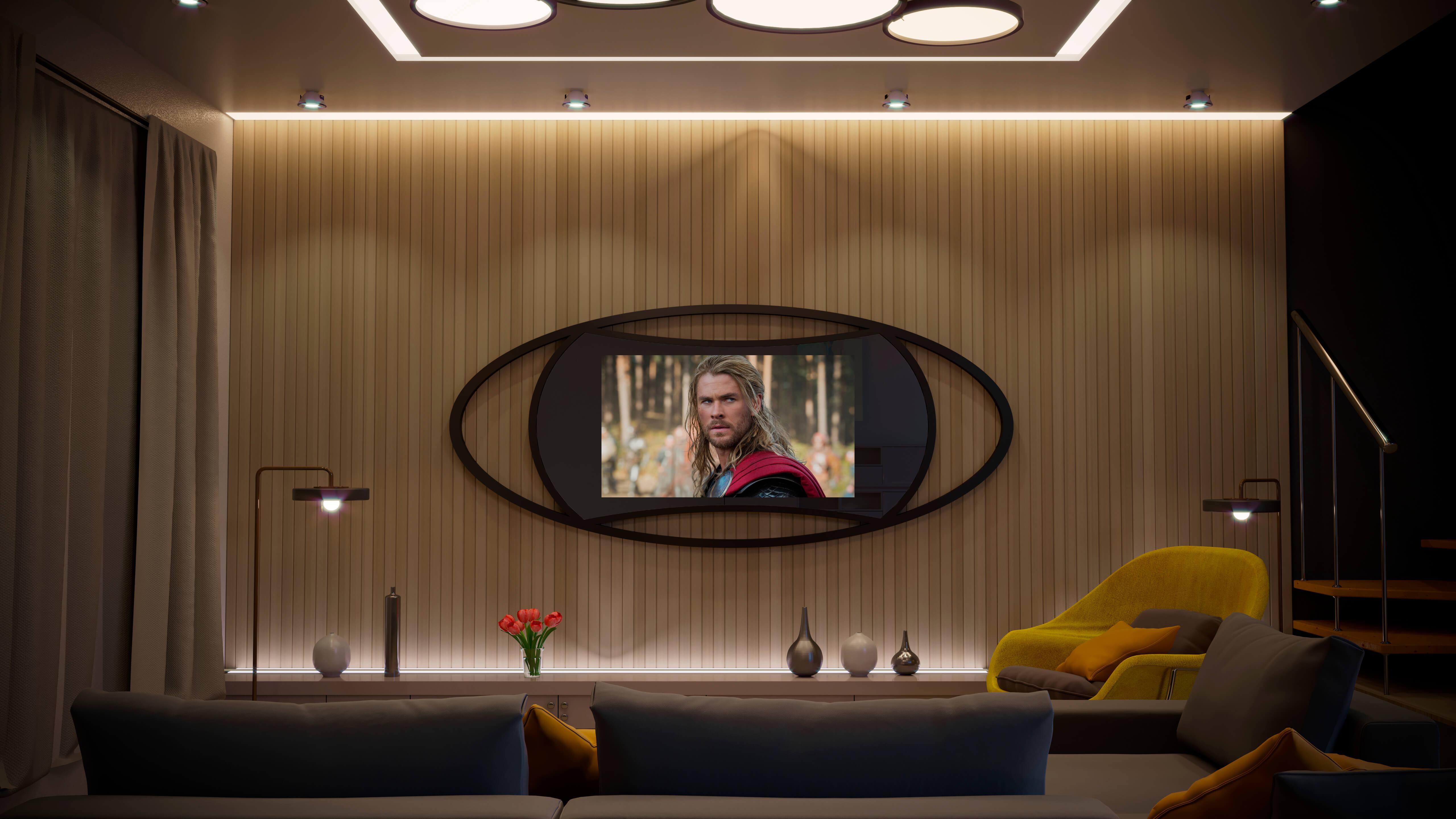 дизайнерские телевизоры Tele-Art 1