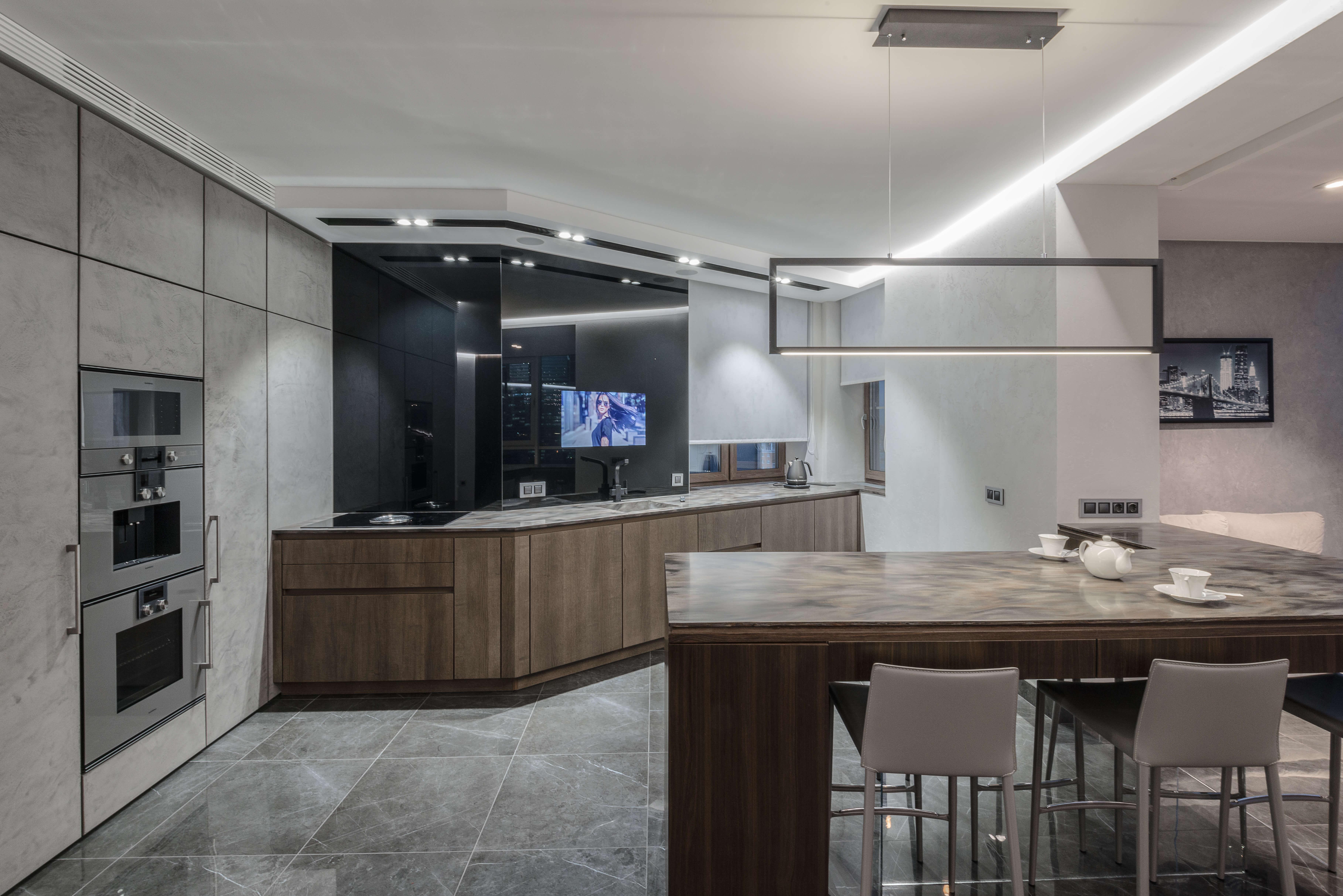 Телевизор на кухню 2