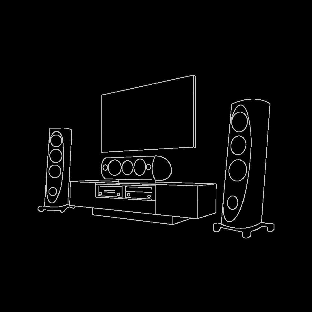 Встроенные телевизоры, мультимедиа, умный дом