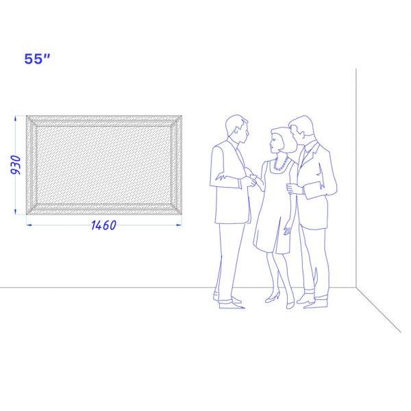 Встроенный телевизор Tele-Art 55″ Q6B