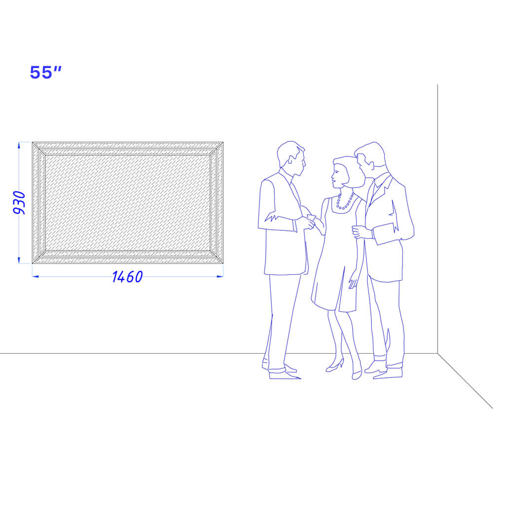Встроенный телевизор Tele-Art 55″ Q70B
