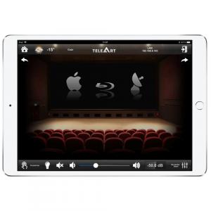Персональный кинозал - система управления графического интерфейса