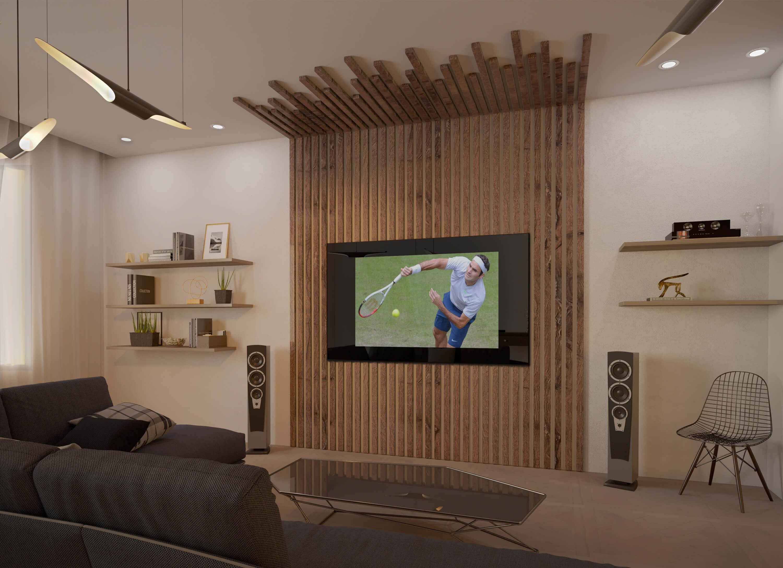 Дизайнерский телевизор 1
