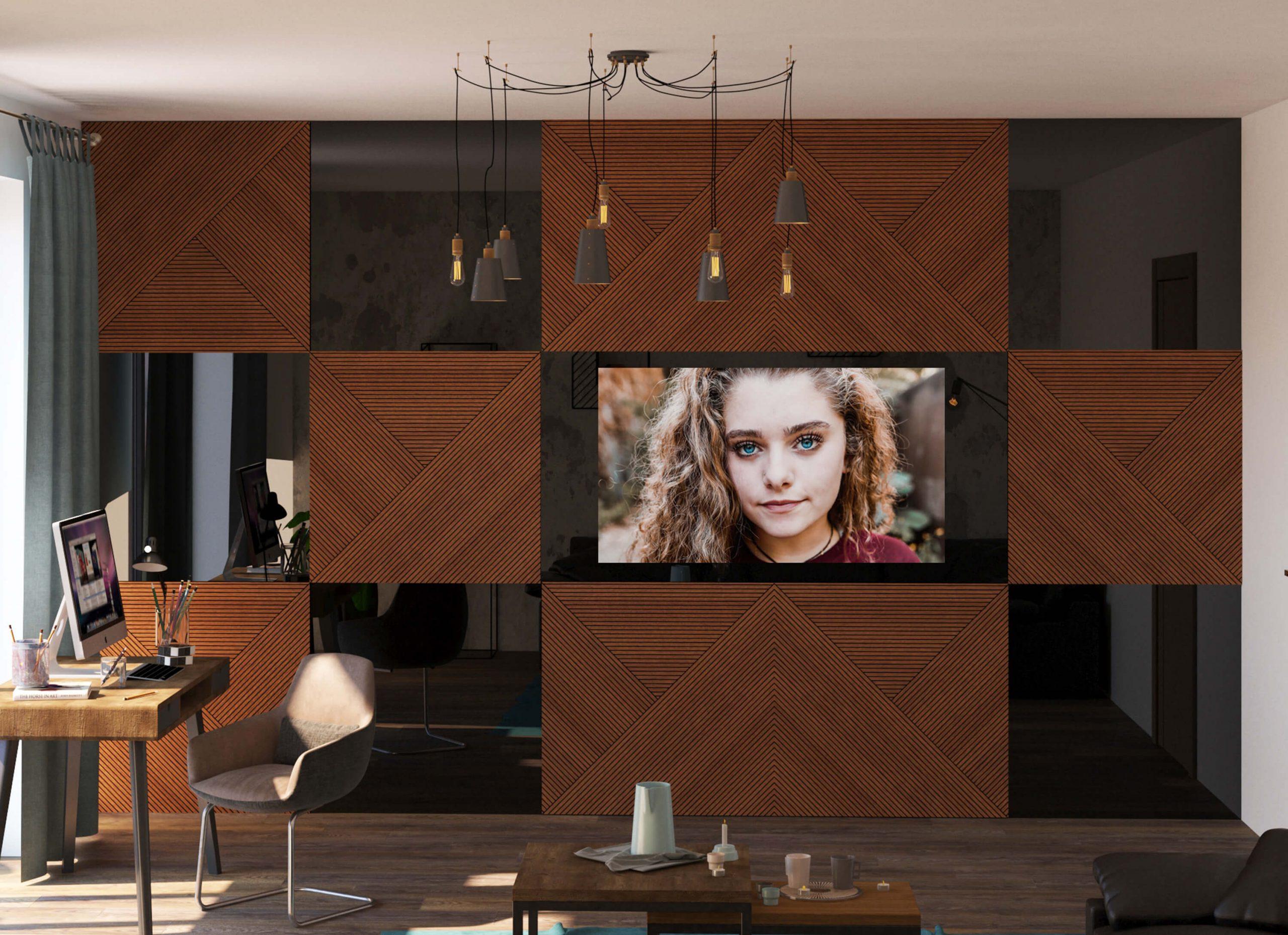 Дизайнерский телевизор 2