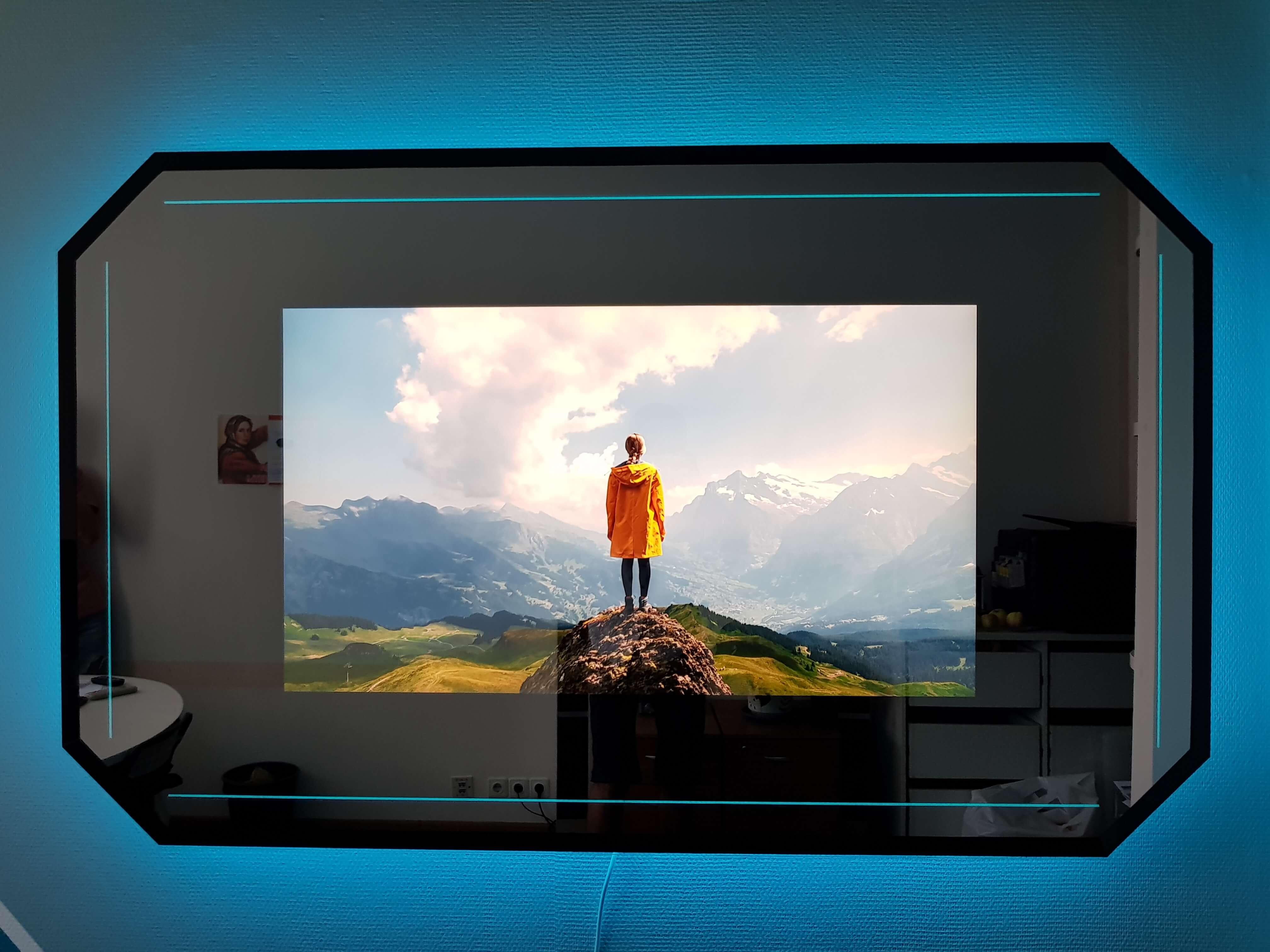 Зеркальные телевизоры для офиса