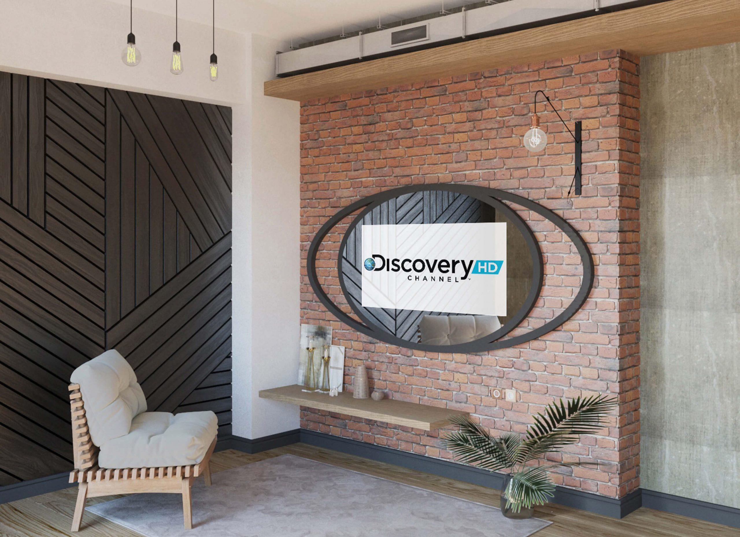 Дизайнерский телевизор 7