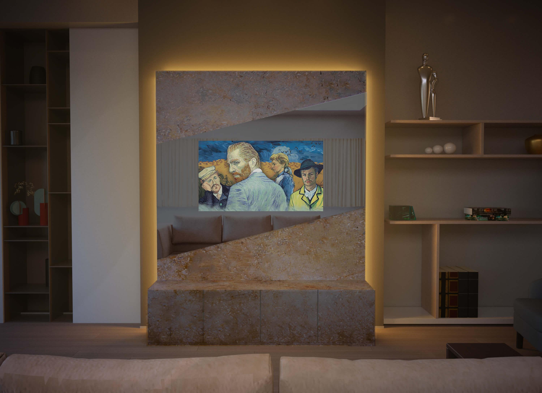 Дизайнерский телевизор 9