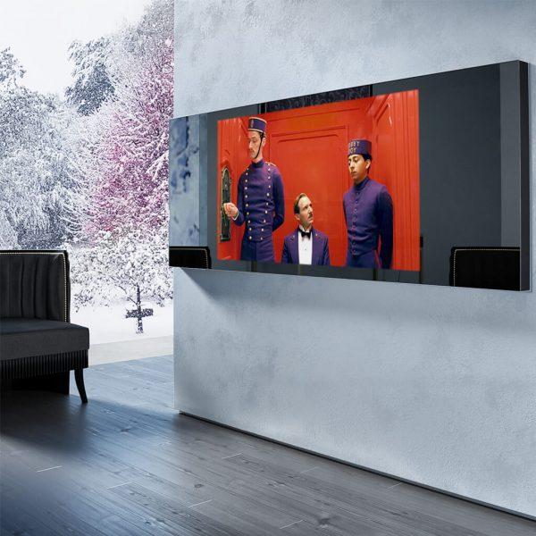 Встроенный телевизор Tele-Art 49″ Q6W Magic Titan Mirror