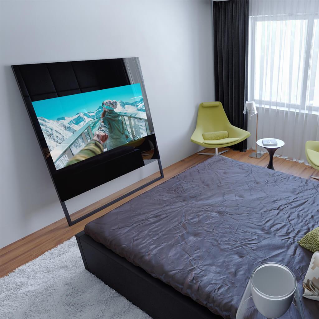 Встроенный телевизор Tele-Art Q70SM для спальни