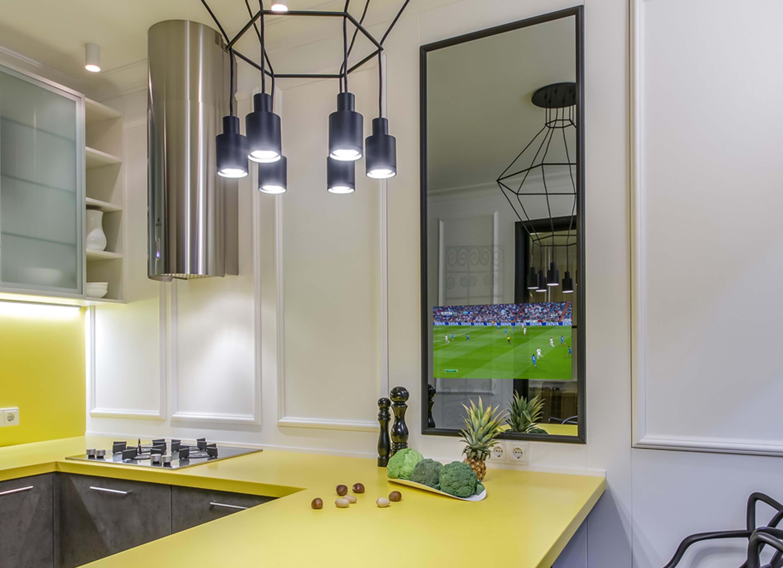 зеркальные телевизоры Tele-Art для кухни