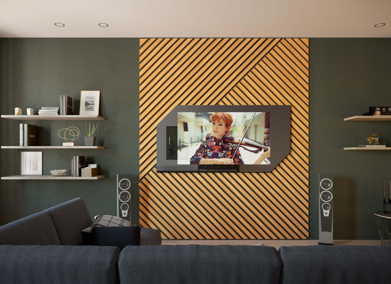 зеркальные телевизоры Tele-Art в гостиную 2