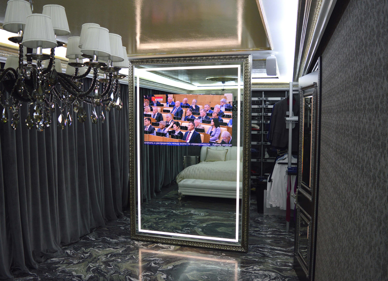 зеркальные телевизоры Tele-Art в спальную комнату 2