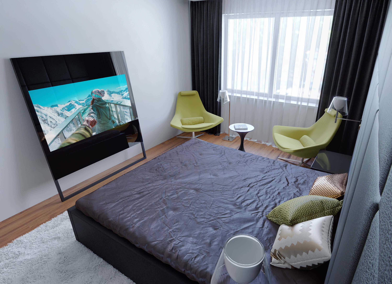 зеркальные телевизоры Tele-Art в спальную комнату