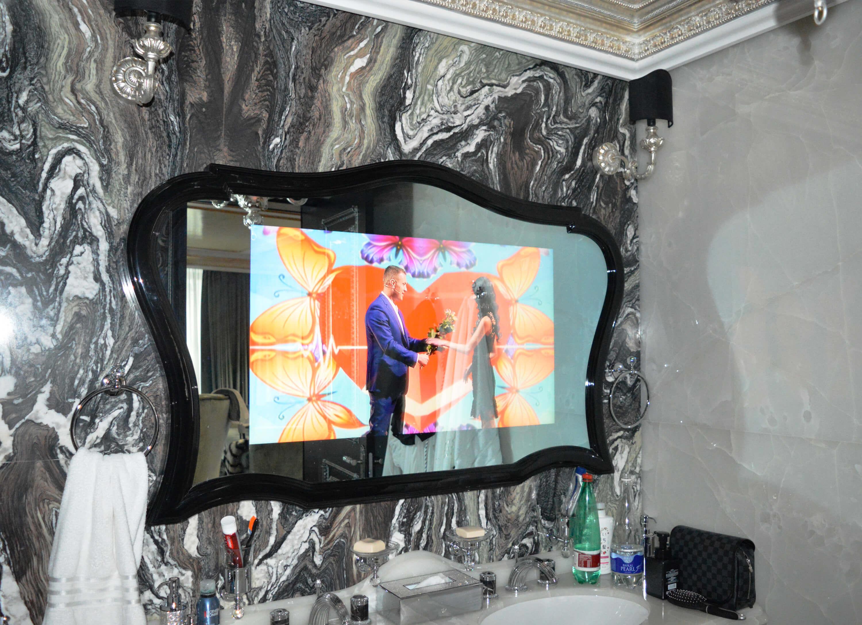 зеркальные телевизоры Tele-Art в ванную комнату