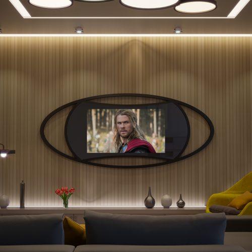 Зеркальный телевизор Tele-Art Natali