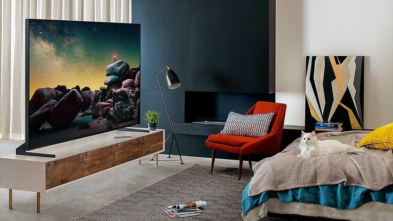 Телевизор Q900R QLED 8K в интерьере