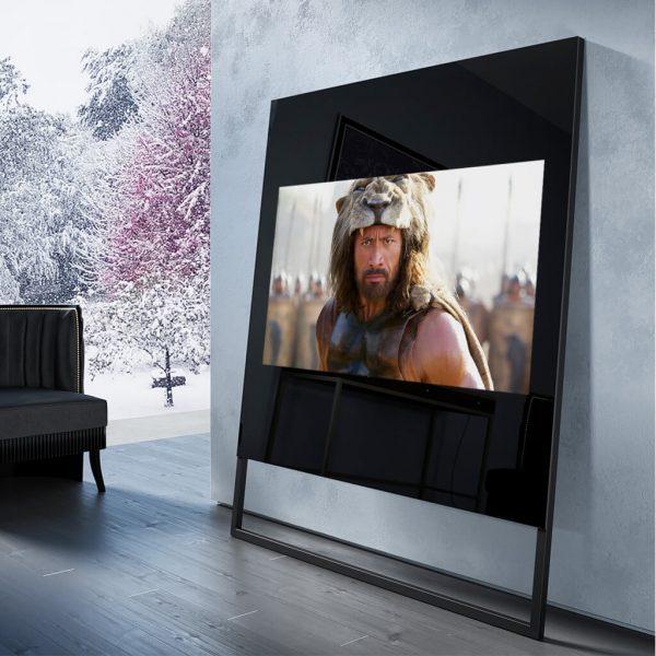 Зеркальный телевизор Tele-Art Q6SM Black Mirror