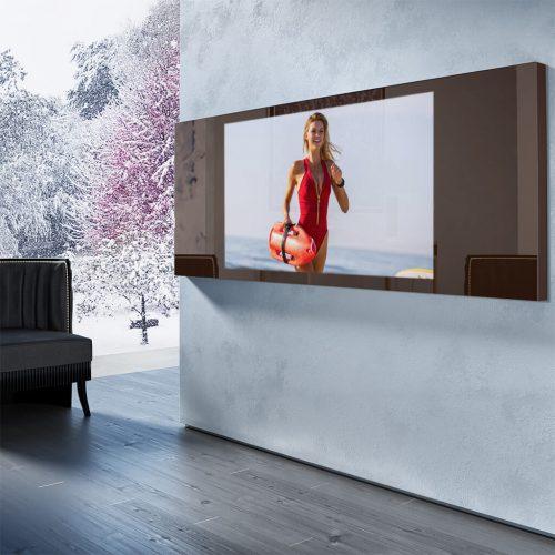 Зеркальный телевизор Tele-Art 49″ Q6W Bronze Mirror