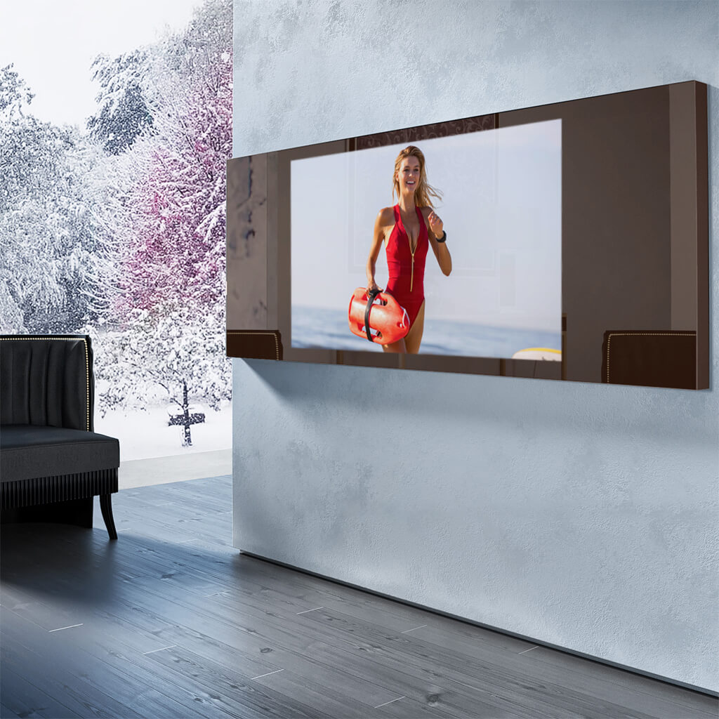 Зеркальный телевизор Tele-Art Q6W Bronze Mirror