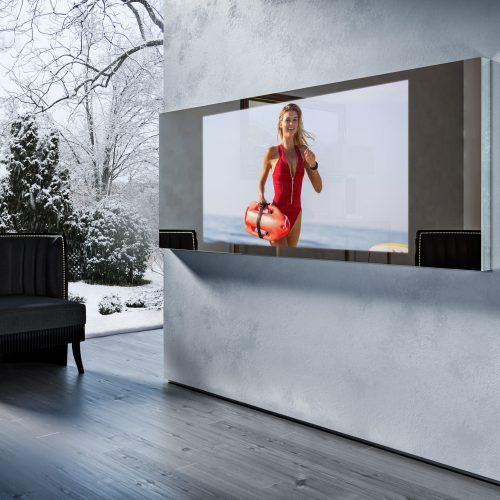 Зеркальный телевизор Tele-Art Mirror Line 55″ Q7W Bronze Mirror