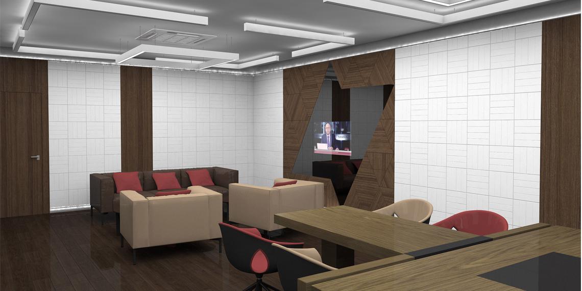 Дизайнерский телевизор для офиса