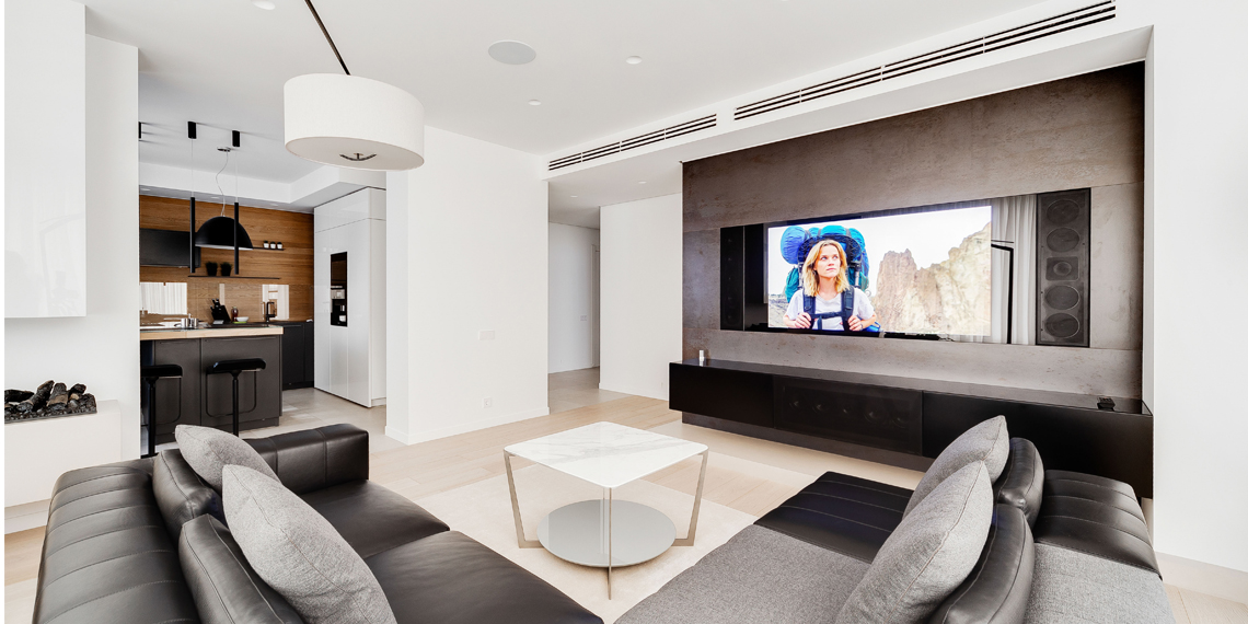 дизайнерский зеркальный телевизор 3