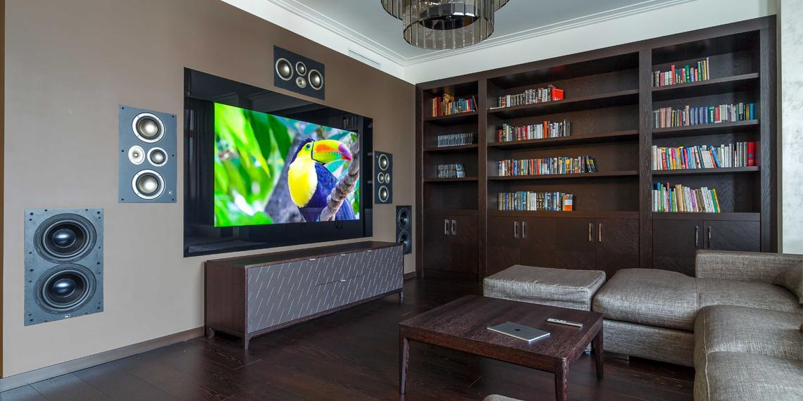 домашний кинотеатр со встроенным телевизором Tele-Art