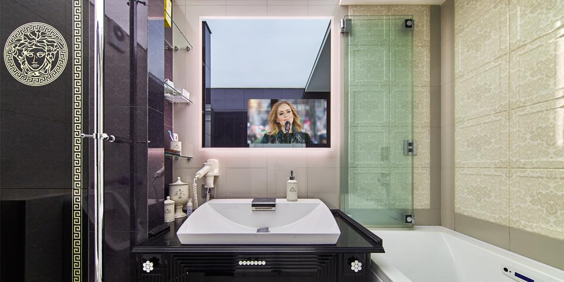 встроенный телевизор Tele-Art для ванной комнаты и душа