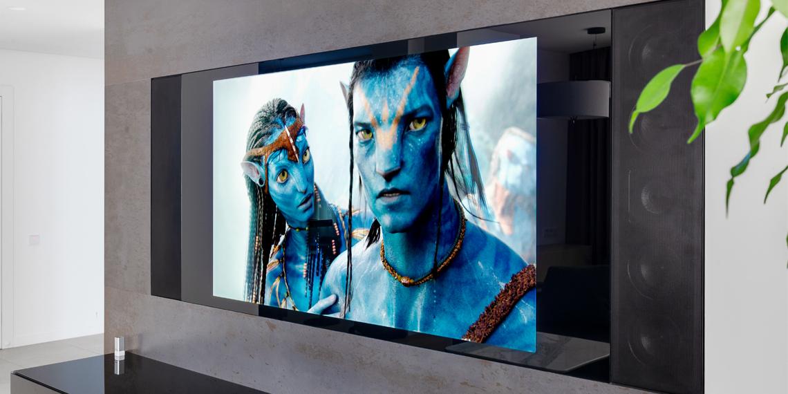 зеркальные телевизоры в гостиную
