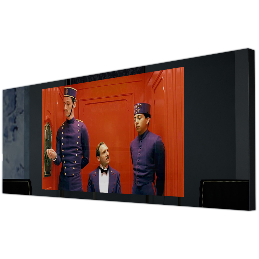 Встроенный телевизор за стеклом Tele-Art Q70W