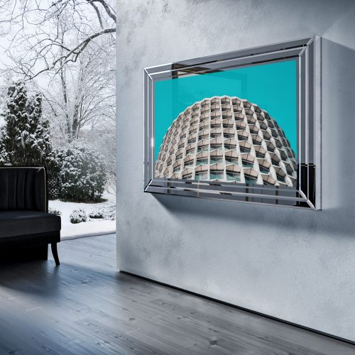 Зеркальный телевизор Tele-Art Crystal Frame Q7B