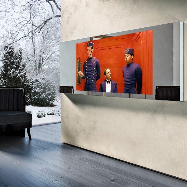 Зеркальный телевизор Tele-Art Q6W Line Mirror Light Mirror